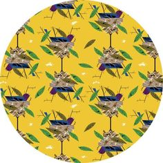 Charley Harper for Birch Organic Fabrics, Bird Architects, Indigo Bunting Fabric is sold by the 1/2 Yard. For example, if you would like to purchase 1 Yard, you would enter 2 in the Qty. box at Checkout. Yardage is cut in one continuous piece. If for some reason the fabric can not be cut as one continuous piece, you will be notified before your order is shipped out. Examples: 1/2 yard = 1 1 yard = 2 1 1/2 yards = 3 2 yards = 4 1/2 Yard Measures 18&q...