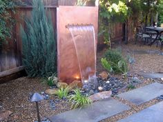 Outdoor Water Features | DIY Shed, Pergola, Fence, Deck & More Outdoor Structures | DIY