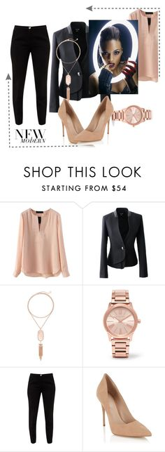 """""""Untitled #50"""" by ruth-jaimie-hollingsworth on Polyvore featuring Kendra Scott, Michael Kors, Ted Baker and Lipsy"""