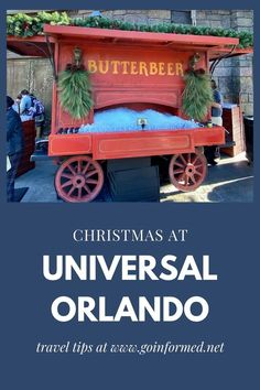 Christmas at Universal Orlando combines holiday tradition with the fantasy of Dr Seuss and Harry Potter. Find out why this is a great time of year to visit the parks and get top tips to make this your best Christmas vacation ever. #universalorlando #orlando #christmas Orlando Travel, Orlando Resorts, Universal Orlando, Universal Studios, A Christmas Story, Christmas Fun, Best Christmas Vacations, Orlando Theme Parks, Holiday Traditions