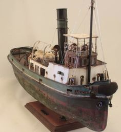 Sanson Tug Boat - Wood Model Kit - by Barlas Pehlivan