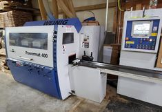 2011 Weinig Powermat P400/018 Moulder Through Feed Package FOR MORE INFORMATION, Call 877-622-4657 Ext. 102 #machineryassociates #machineryforsale #moulder #woodworking #woodworkingmachinery #machinery #machining #used #usedmachine #usedmachinery #machinery #machining