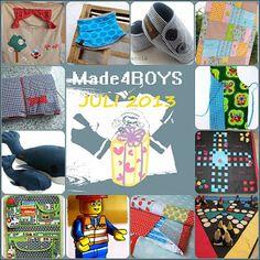 MadeBoys  Tolle Anleitungen zum nähen für Jungs
