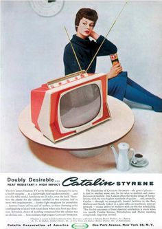 '59 Sylvania Dualette Television