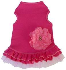 Pretty Pink Flower Dress