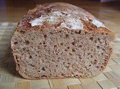 Orkiszowy chleb na zakwasie