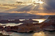 Lake Powell Utah. LIVE IT WITH JUMP! Credit: Mike Jones