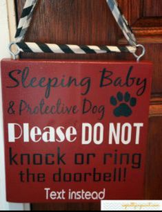 Must have sign for moms with new baby or toddlers!