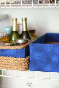 DIY Storage Boxes: Repurpose those old cardboard boxes! - The DIY Nuts Don't throw away those old cardboard boxes! Learn how to make EASY, DIY storage boxes using fabric. These DIY no-sew storage boxes will help keep you organized. Diy Throws, Diy Throw Pillows, Diy Storage Boxes, Storage Baskets, Extra Storage, Painting Fabric Chairs, Drop Cloth Curtains, Diy Letters, Organizer