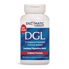 Deglycyrrhizinated (DGL) Licorice - A special extract of licorice known as DGL is a remarkable medicine for peptic ulcers.