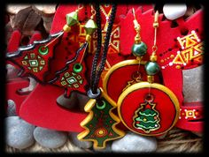 Christmas decorations made by Ar-Mari Rubenian...