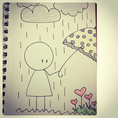 sad drawings quotes drawing boy quote cartoon emo happy couple inspired happiness fun motivation heart lovedrawing cutedrawing pain