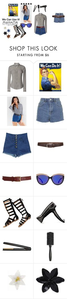 """We Can Use It!"" by amadorabr ❤ liked on Polyvore featuring RED Valentino, BDG, Topshop, Chicnova Fashion, s.pa accessoires, Barneys New York, Diesel, Ash, GHD and Bumble and bumble"