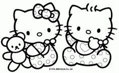 children coloringbookhellokitty | Baby Hello Kitty Coloring Pages >> Disney Coloring Pages