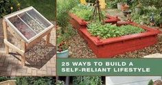 Diy Projects For The Self-Sufficient Homeowner: 25 Ways To Build A Self-Reliant Lifestyle - Did You Know?