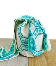 wayuu mochila bag bucket boho bag