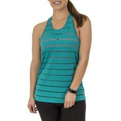 Buy Women's Core Active Sheer Stripe Tank at Walmart.com