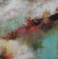 Canzone Primavera by Lisa Boardwine Oil/Mixed Media ~ 12 x 12
