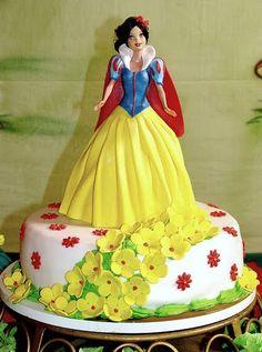 Filmic Light: A Snow White Sanctum: Let Them Eat Cake...Snow White Cake
