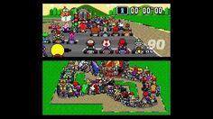 """On instagram by tuptocreativo #supernintendo #microhobbit (o) http://ift.tt/21glozG: Cómo sería Super #MarioKart con 101 jugadores?  El famosos juego de la década de los 90 vuelve al imaginario colectivo gracias a este video de #YouTube. """"Super Mario Kart"""" es un juego de #SuperNintendo que vio la luz en 1992 y batió el récord en ventas durante aquel año.  La manera de jugar """"Super Mario Kart"""" desde su lanzamiento tenía el mismo objetivo que hasta ahora: había que elegir uno de los personajes…"""