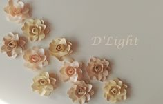 Paper Flowers. Gardenias. Paper Gardenias Gardenias, Fun Things, Paper Flowers, Stud Earrings, Funny Things, Stud Earring, Earring Studs