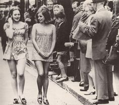 Two girls walking down the street in Cape Town in 1965 - Imgur