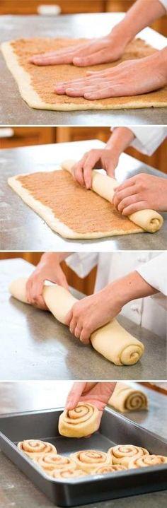 Secrets to Cinnamon Rolls...homemade cinnamon rolls by sally tb