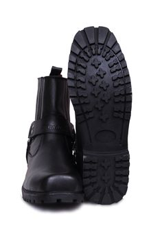 Motorcycle harness short boots