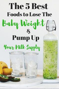 The 5 Best Foods To Lose The Baby Weight and Pump Up Your Milk Supply Losing the baby weight comes with the worry of losing your milk supply. You can eat the right foods to do both! Check out which 5 foods are the best ones. Tire Lait, Increase Milk Supply, Boost Milk Supply, Lactation Recipes, Lactation Foods, Lactation Smoothie, Lactation Cookies, Breastfeeding And Pumping, Pregnancy