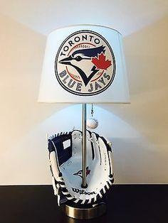 Toronto Blue Jays Lamp MLB Baseball Decor Kids Room Lighting