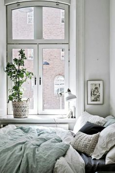 The view from the window... Boho bedrooms, comfy, nooks, windows