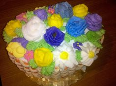 Flower Basket Cake