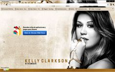 kelly clarkson browser theme