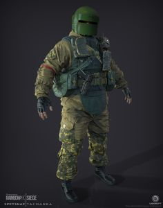 ArtStation - Tachanka | Spetsnaz | Rainbow 6 | Siege, J. Mark