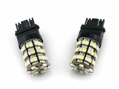 2 pcs Car/Truck/Vehicle T25 3157 Pure White 60 SMD 60 LED Tail brake stop LED Light Bulb (White/Amber) - Compatible Bulb Model(for reference only):3047 3057 3155 3157 3157A 3357 3457 3457A 4157; NOT Compatible with Japanese cars by Bingomama. $13.99. For more items from us,please check:http://www.amazon.com/gp/browse.html?ie=UTF8&marketplaceID=ATVPDKIKX0DER&me=AA3DW73OVKOAR  Features: The light will emit white light when driving and yellow/amber light when parkin...
