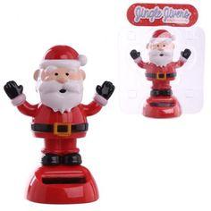 Solární hračka Santa Claus - veselá vánoční dekorace #Vánoce #dekorace #Santa #solarpal