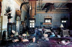 "LILY COLE, ""EARTHQUAKE DAMAGE,""  WHADWHAN PALACE, GUJARAT, INDIA, 2005"