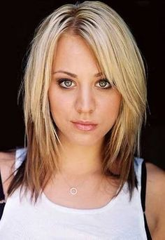 fine straight blonde choppy haircuts - Google Search