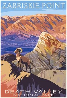 Zabriskie Point - Death Valley National Park Posters at AllPosters.com