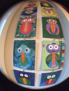 Birdymarble Tuesday 08-12-2015; New Birds today; #M26Funnybirdsad and #M20BirdyonaBough