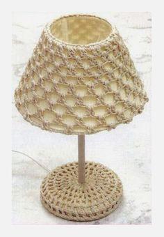 Crochet Stars, Love Crochet, Beautiful Crochet, Diy Crochet, Pinterest Crochet, Crochet Lampshade, Crochet Doilies, Crochet Decoration, Crochet Home Decor