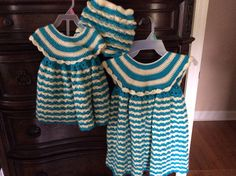 Crocheted dresses for the grands