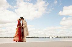 Outdoor Indian Wedding in Newport, Rhode Island - #ShaadiBazaar #indian