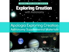Apologia Exploring Creation with Astronomy Supplemental Materials - Live and Learn Farm