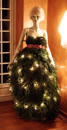 b&b Gli Specchi - our Christmas tree