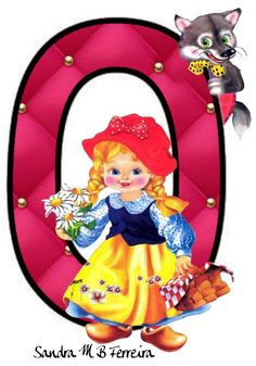 Cartoon Letters, Kids Cards, Princess Peach, Playing Cards, Bear, School, Fictional Characters, Red Riding Hood, Alphabet