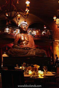 Bougies en cire led Bloolands dans le célèbre Buddha Bar à Paris