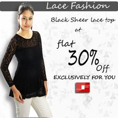 Laces seems to be for one of the season's biggest trends.Its all about lace this season with the delicate fabric landing on everything from colorful dresses to tunics/tops.