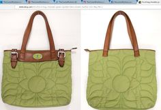 Fossil bag handbag shoulder green quilted fabric brown leather trim Key-Per ~ http://stores.ebay.com/thecurrentfashion/Bags-/_i.html?_fsub=10888362012 , http://stores.ebay.com/thecurrentfashion | #TheCurrentFashion #eBay #eBayFashion #fashion #style #Fossil #Fossilbag #Fossilhandbag #FossilStyle #Fossilkeyper #shoulderbag #bag #satchel #handbag #bags #handbags #bagoftheday #botd #fabricbag #quiltedbag #greenbag #womensfashion #womensstyle #shopping #want #musthave #leather #leathertrim