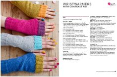 A little while ago I wrote about the knitting needle roll I made and the fingerless gloves pattern that I was beginning to knit. Well, it's been several weeks now but I've finally finis… Knitted Mittens Pattern, Loom Knitting Patterns, Knit Mittens, Knitting Stitches, Knitting Needles, Hand Knitting, Hat Patterns, Knitting Tutorials, Knitting Projects